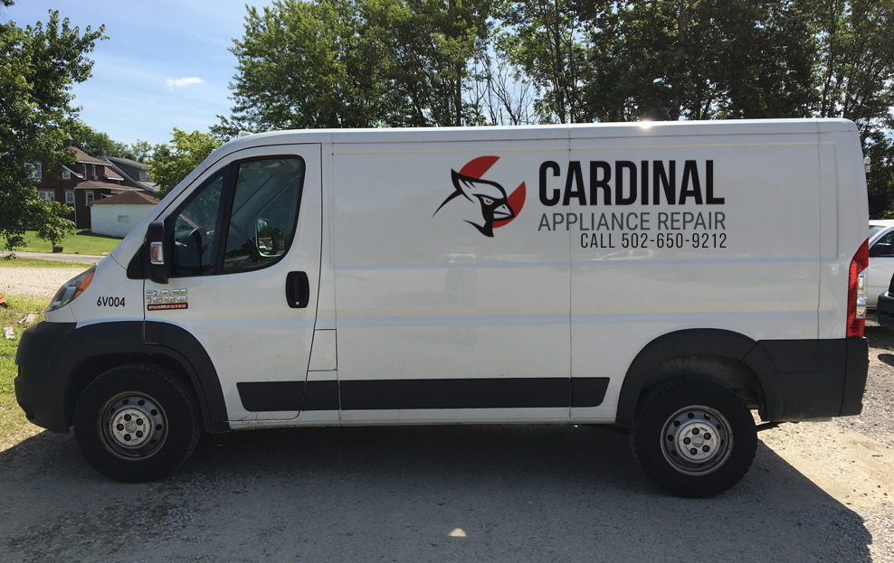 cardinal appliance repair van